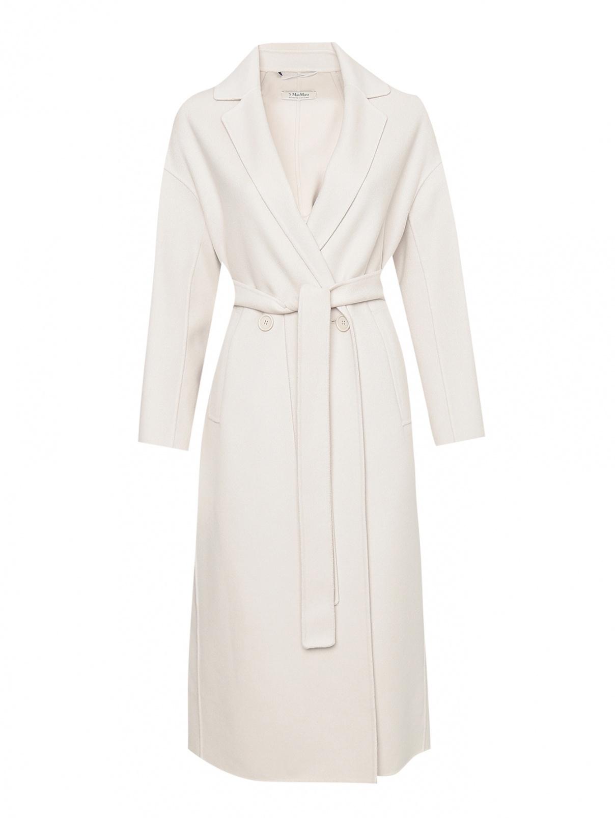 Двубортное пальто из шерсти Max Mara  –  Общий вид