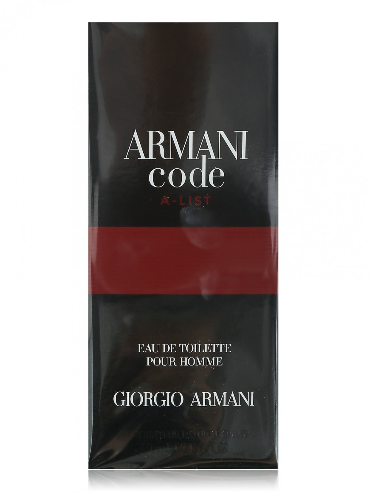 Туалетная вода 50 мл Code A-list Giorgio Armani  –  Общий вид
