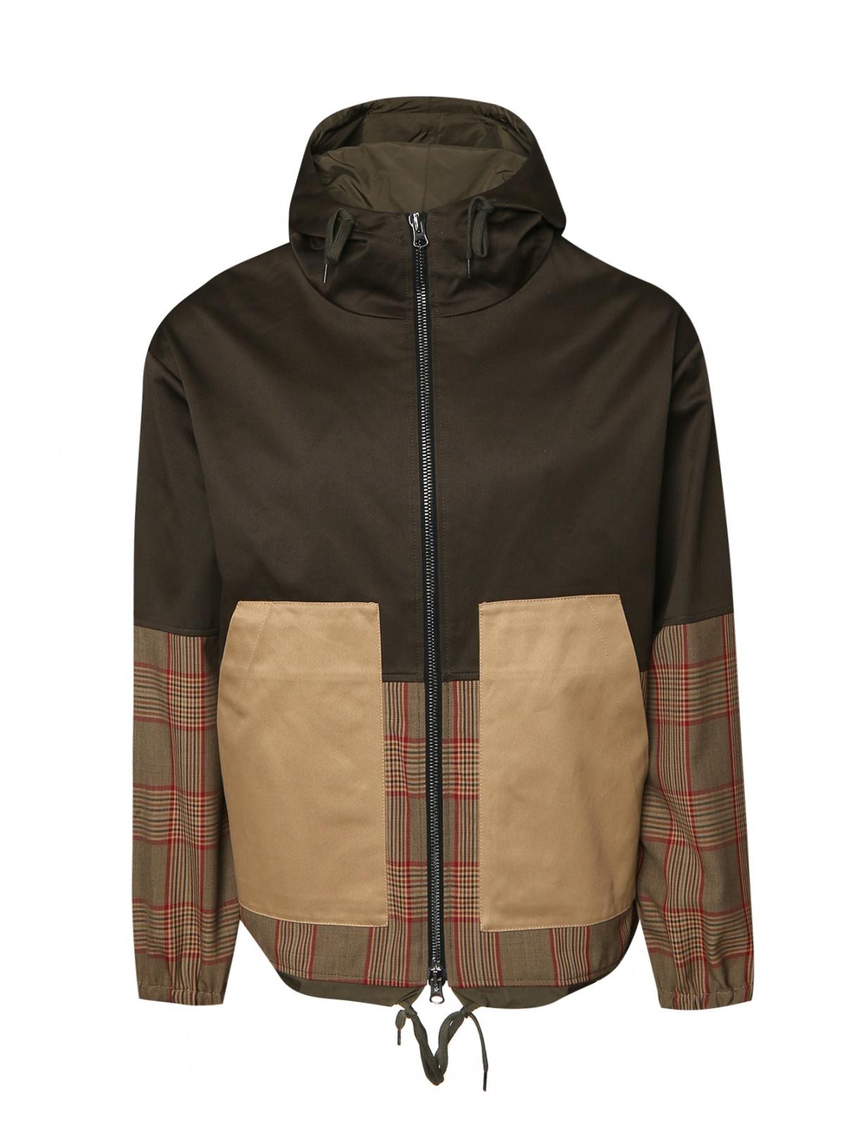 Куртка из хлопка с капюшоном Barena  –  Общий вид