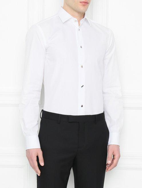 Рубашка из хлопка Paul Smith - МодельВерхНиз