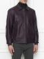 Куртка из кожи на молнии Pal Zileri  –  МодельВерхНиз