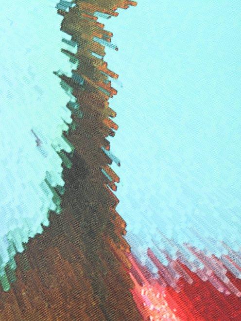 Платок из шелка с узором Innangelo - Деталь1