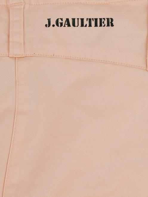 Бриджи из хлопка с боковыми карманами - Деталь1