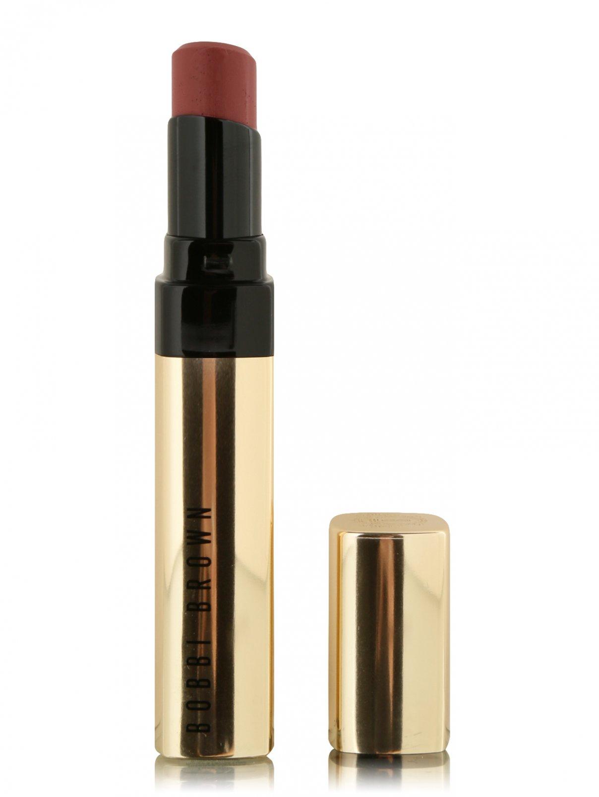 Помада Luxe Shine оттенок - Intense Claret Makeup Bobbi Brown  –  Общий вид