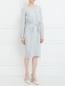 Платье с драпировкой Alberta Ferretti  –  Модель Общий вид
