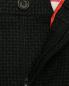 Брюки прямого кроя из шерсти с узором Paul Smith  –  Деталь1