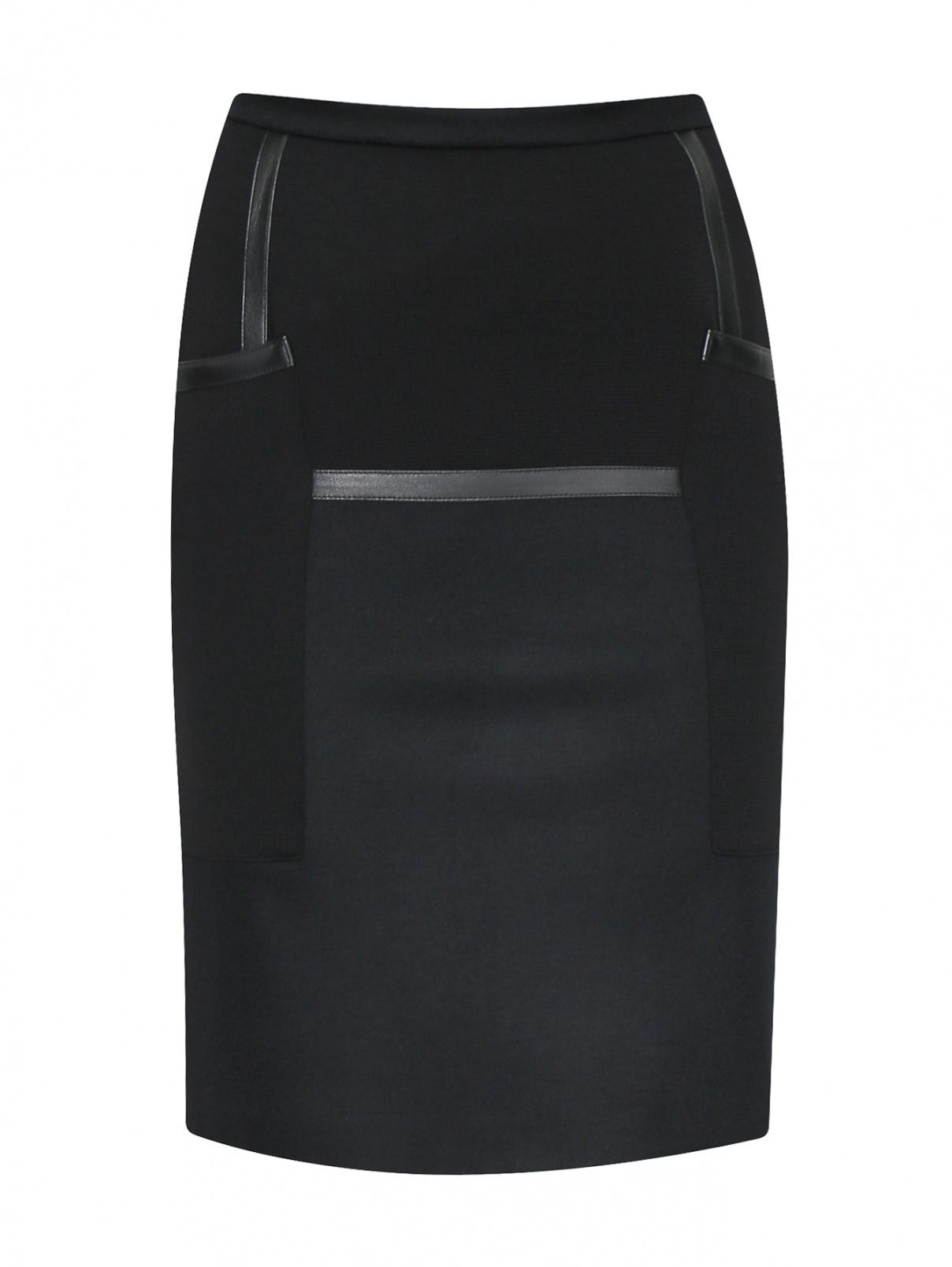 Юбка из шерсти с карманами Max Mara  –  Общий вид