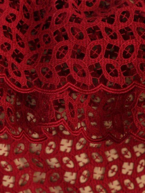 Платье-макси из кружева - Деталь