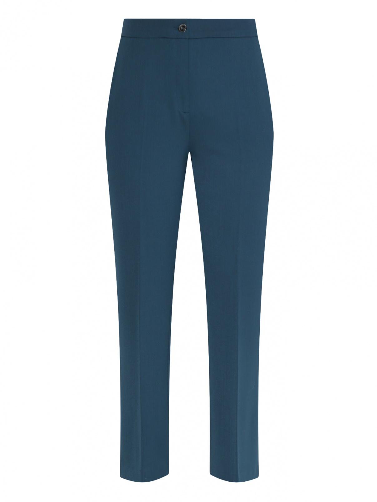 Укороченные брюки  с боковыми карманами Marina Rinaldi  –  Общий вид
