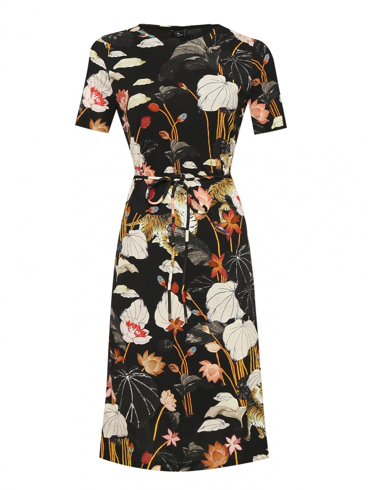 Платье свободного кроя с узором Etro  –  Общий вид