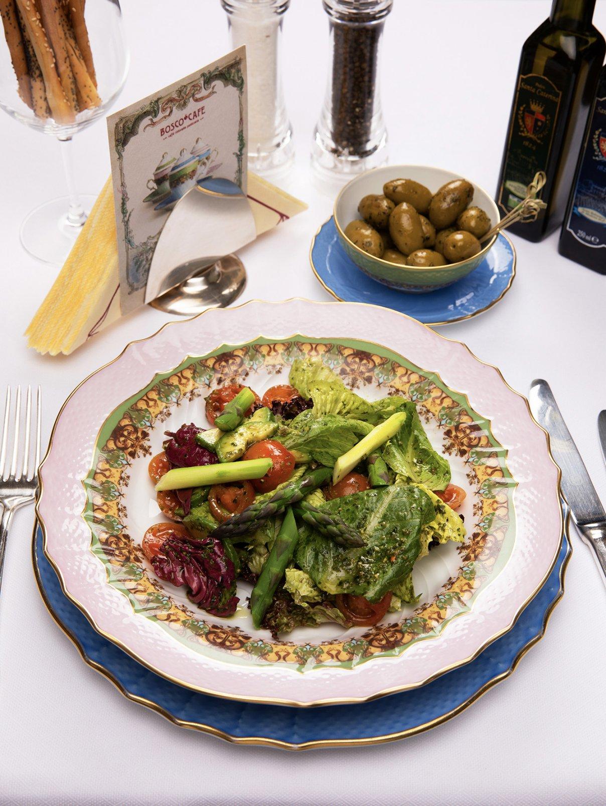 Салат «Верди» BoscoCafe  –  Общий вид