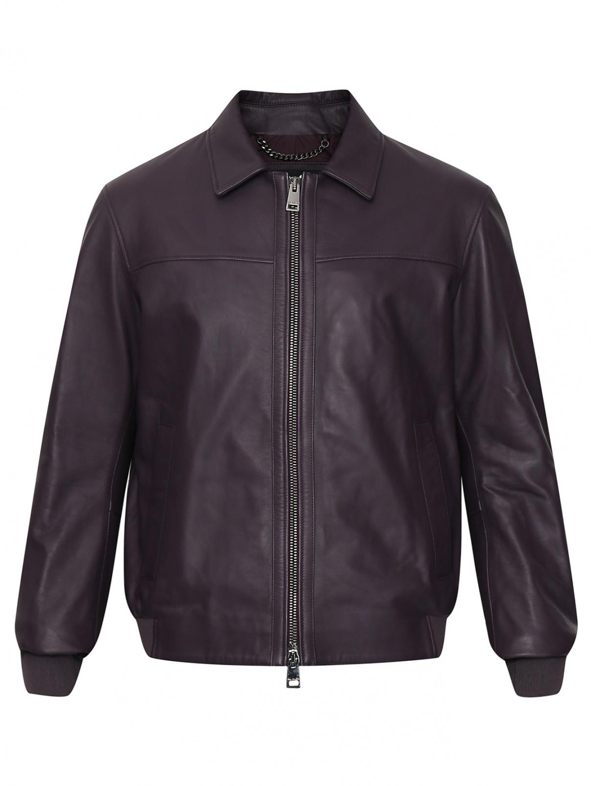 Куртка из кожи на молнии Pal Zileri  –  Общий вид