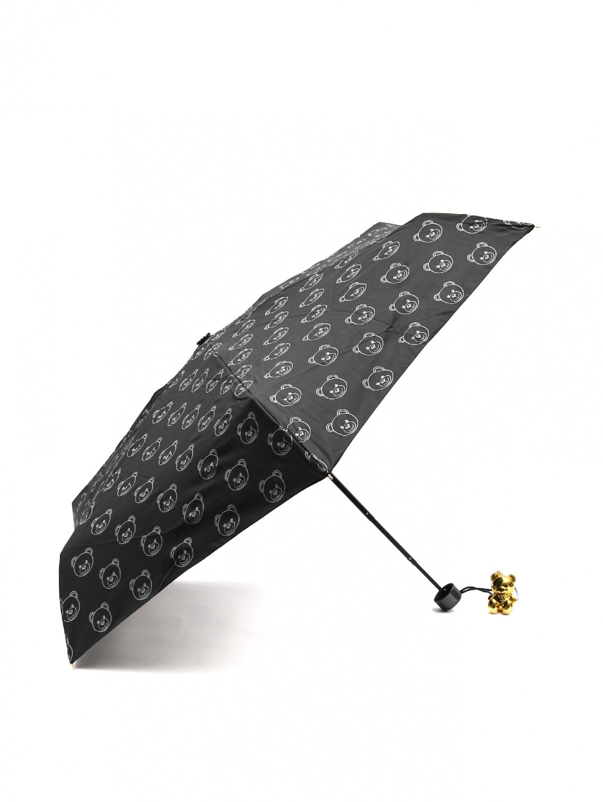 Зонт-автомат с брелком Moschino  –  Общий вид