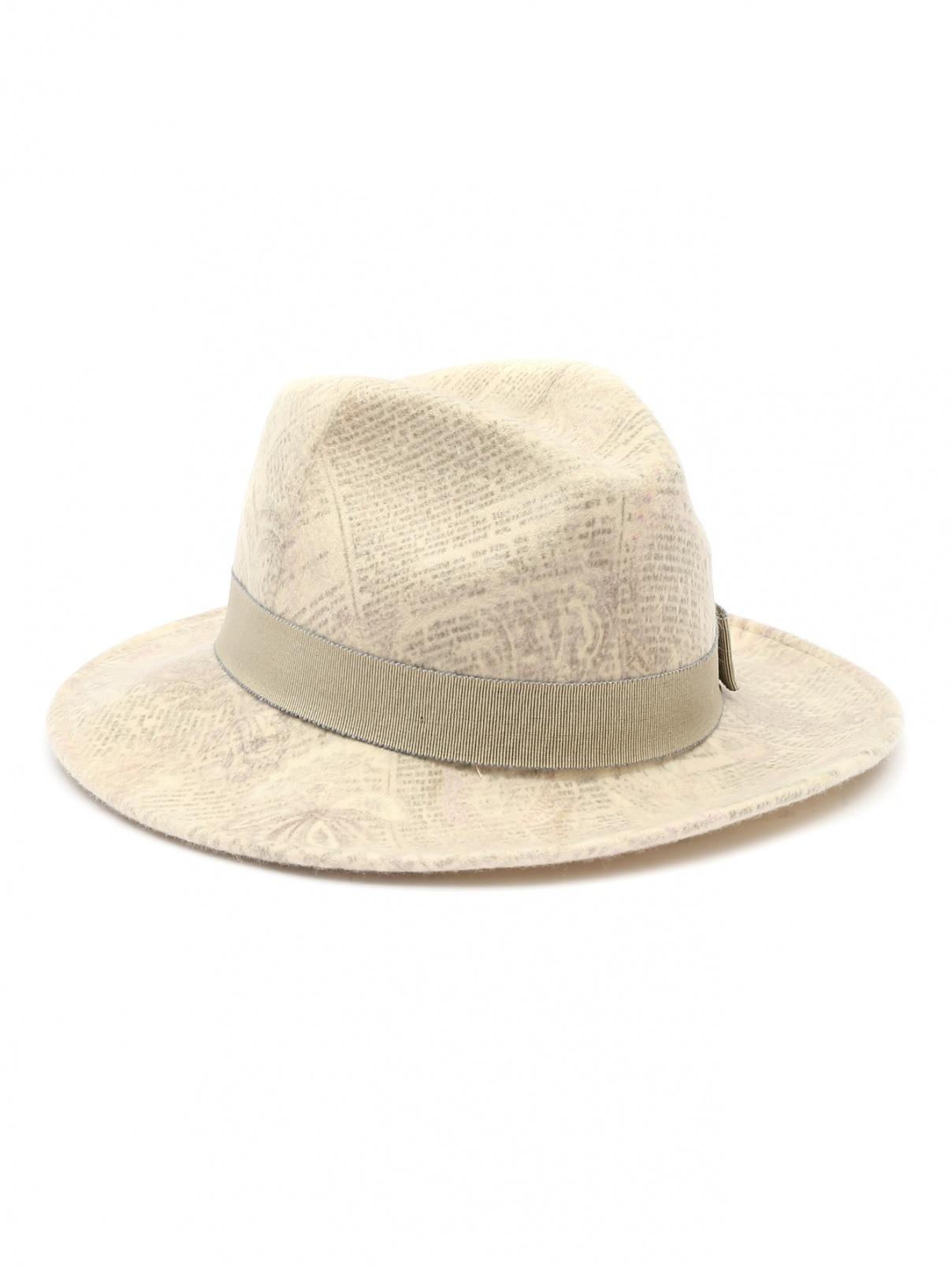 Шляпа из шерсти с узором Etro  –  Общий вид