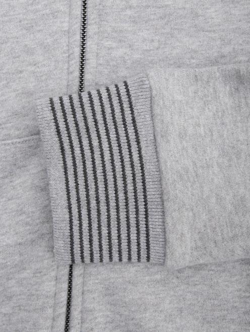 Толстовка из хлопка с вышивкой  - Деталь1