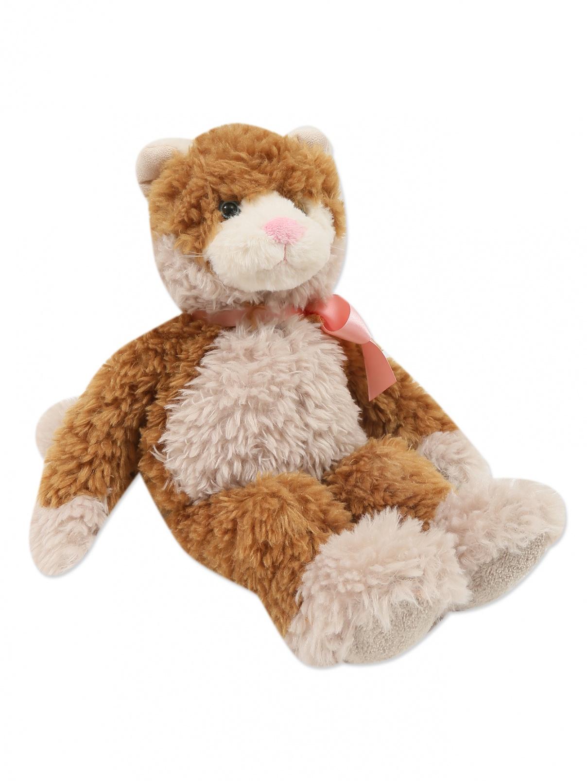 """Коллекционная игрушка """"Кот с бантиком"""" Charlie Bears  –  Общий вид"""
