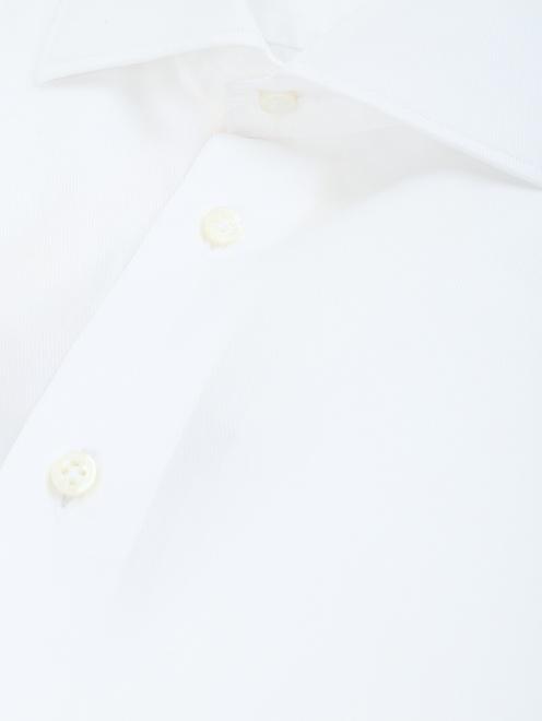 Сорочка под запонки из хлопка - Деталь
