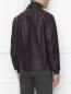 Куртка из кожи на молнии Pal Zileri  –  МодельВерхНиз1