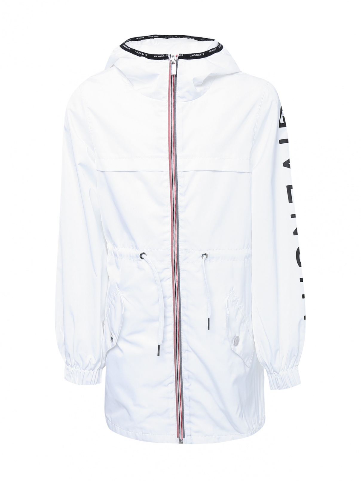 Ветровка удлиненная с капюшоном Givenchy  –  Общий вид