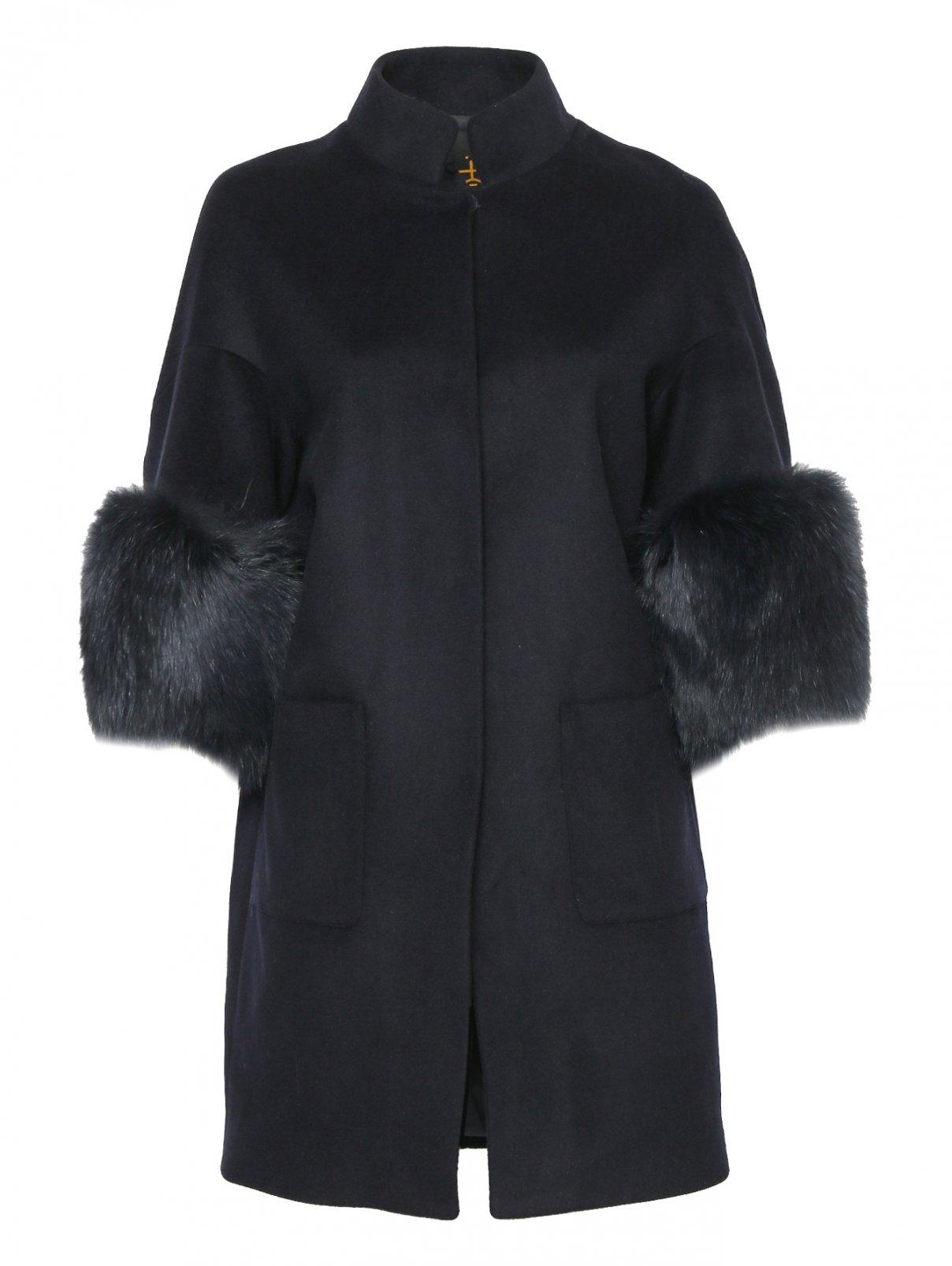 Пальто из шерсти с рукавами 3/4 Itakli  –  Общий вид