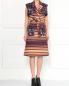 Платье из смешанного хлопка с узором Kenzo  –  Модель Общий вид