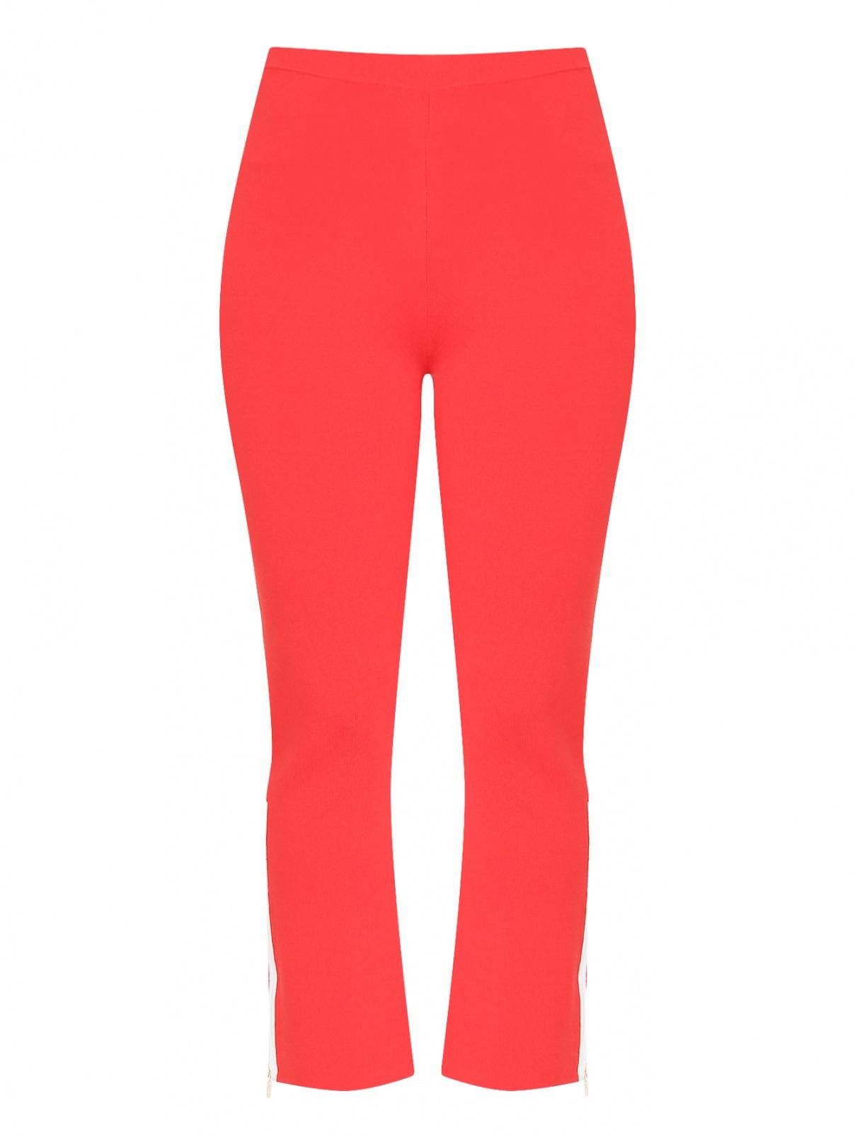 Трикотажные брюки с контрастной отделкой Marina Rinaldi  –  Общий вид