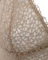 Комбинация из шелка с ажурным узором La Perla  –  Деталь