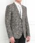 Пиджак из льна с узором Paul Smith  –  Модель Верх-Низ