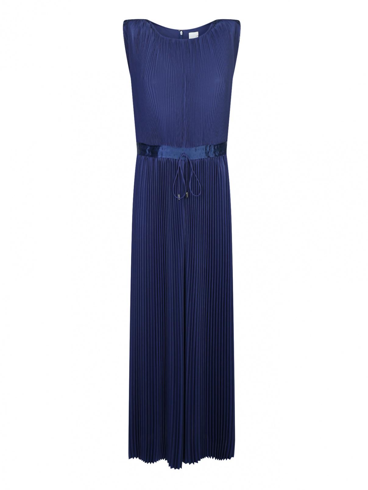Плиссированное платье-макси без рукавов Paul Smith  –  Общий вид