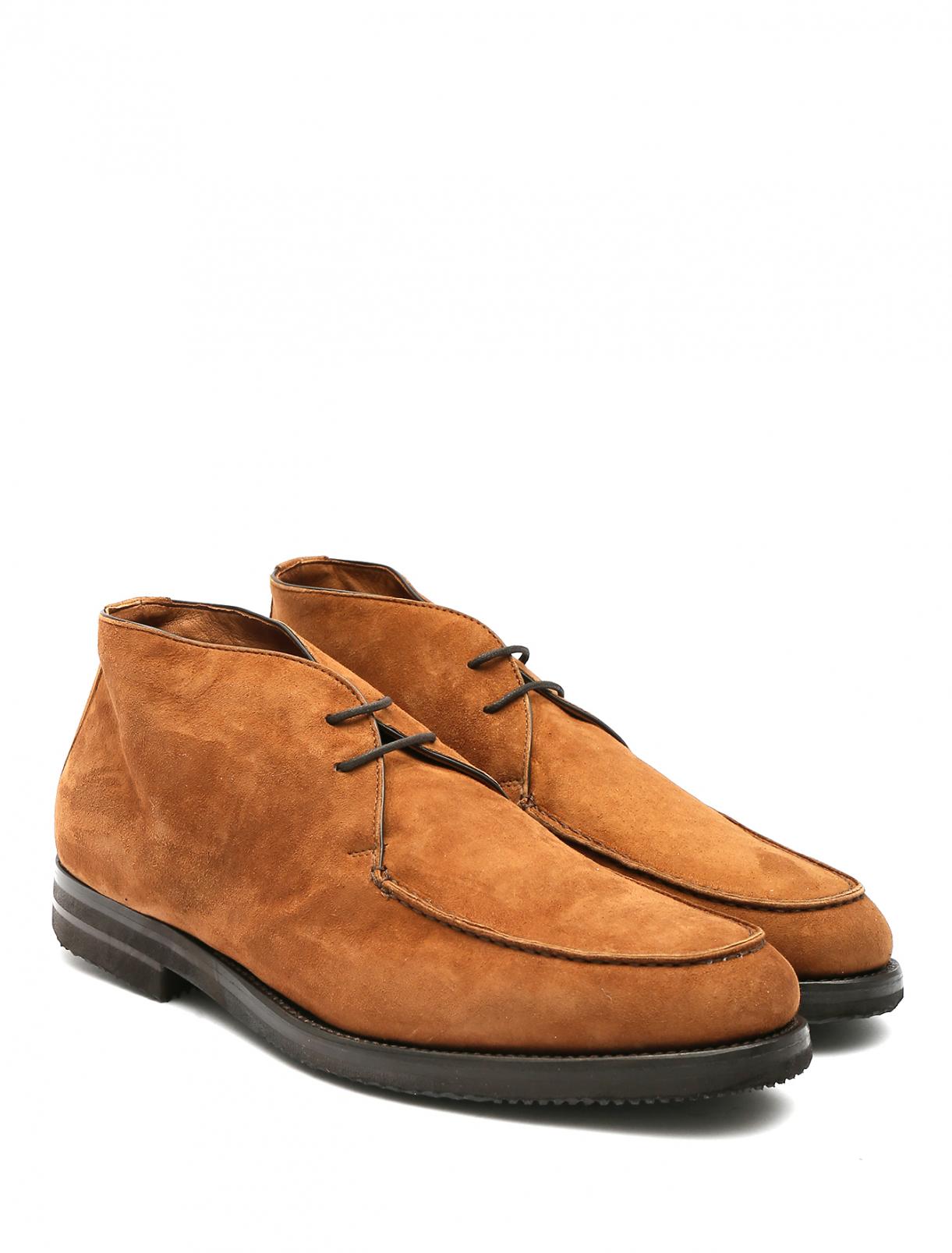Ботинки из кожи Isaia  –  Общий вид