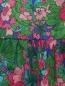 Платье из хлопка с узором Weekend Max Mara  –  Деталь