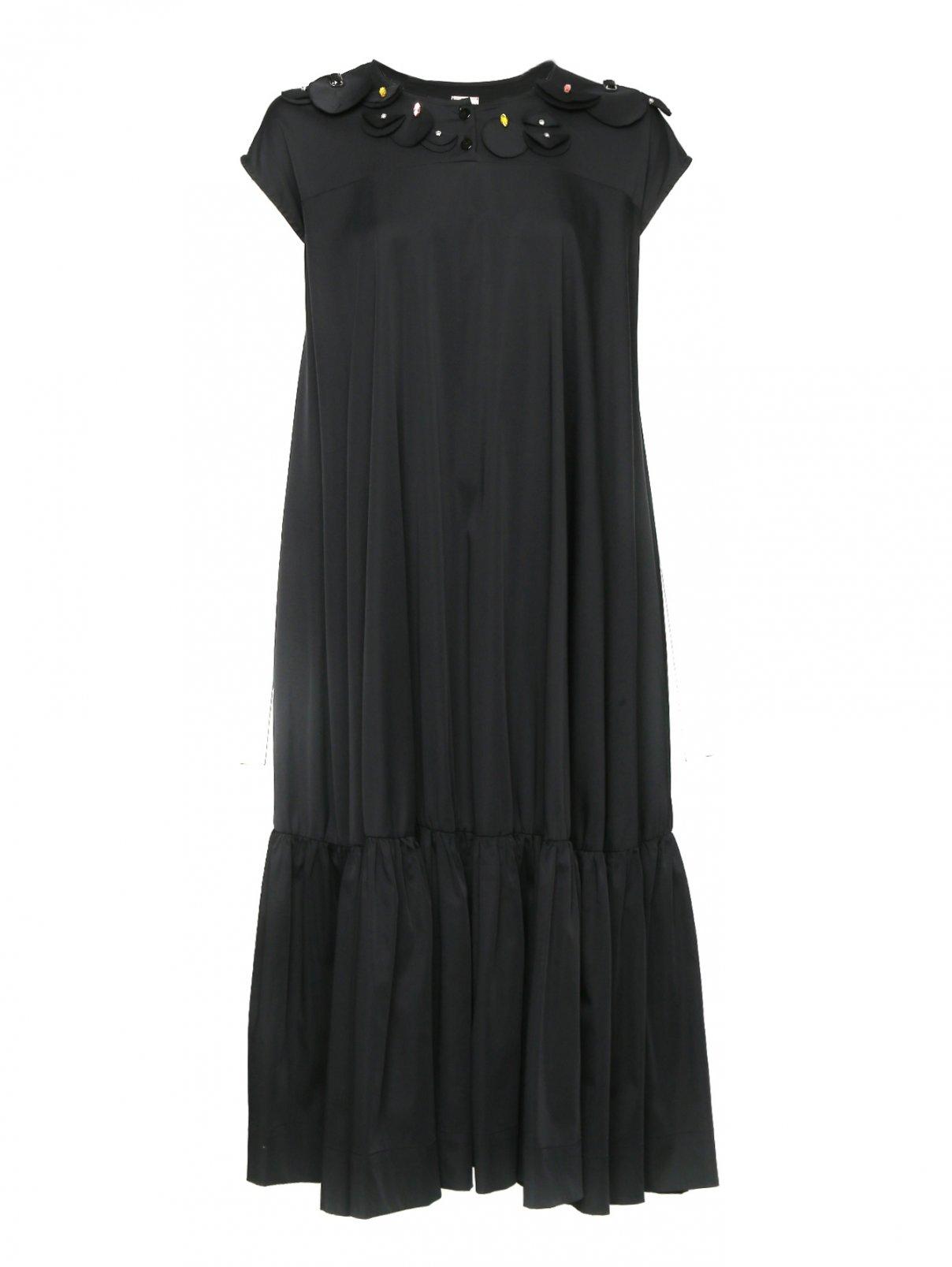 Платье-миди свободного кроя с декоративной отделкой Antonio Marras  –  Общий вид