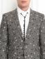 Пиджак из льна с узором Paul Smith  –  Модель Общий вид1