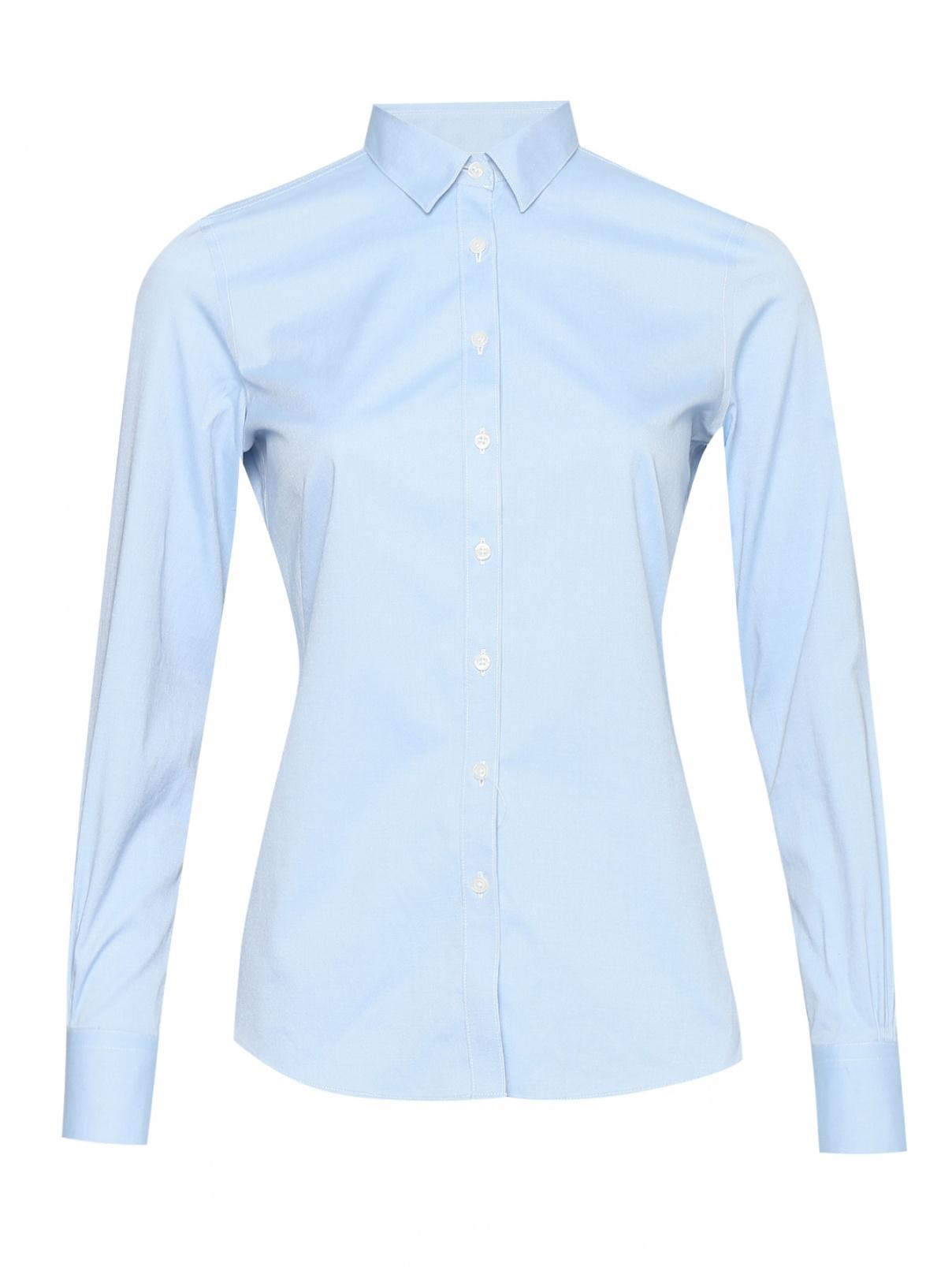Рубашка из хлопка на пуговицах Brooks Brothers  –  Общий вид