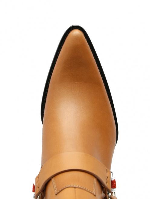 Ботинки кожаные Calvin Klein 205W39NYC - Обтравка3