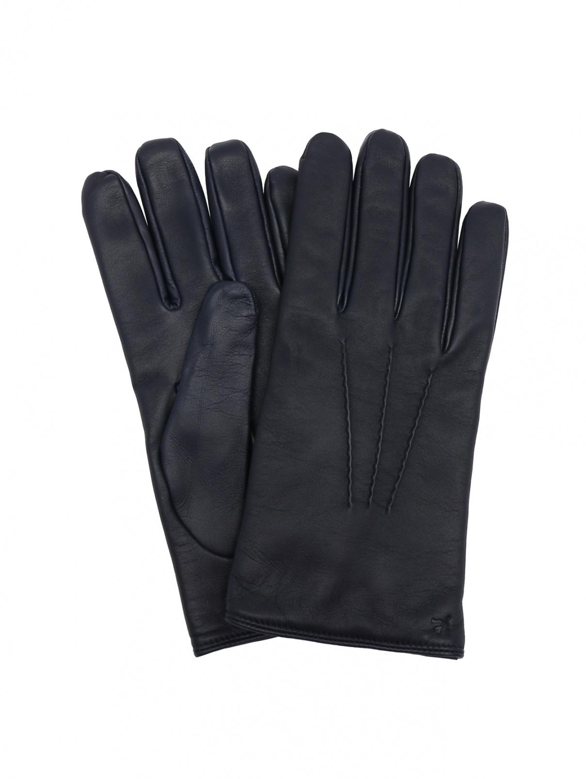 Перчатки из гладкой кожи Isaia  –  Общий вид