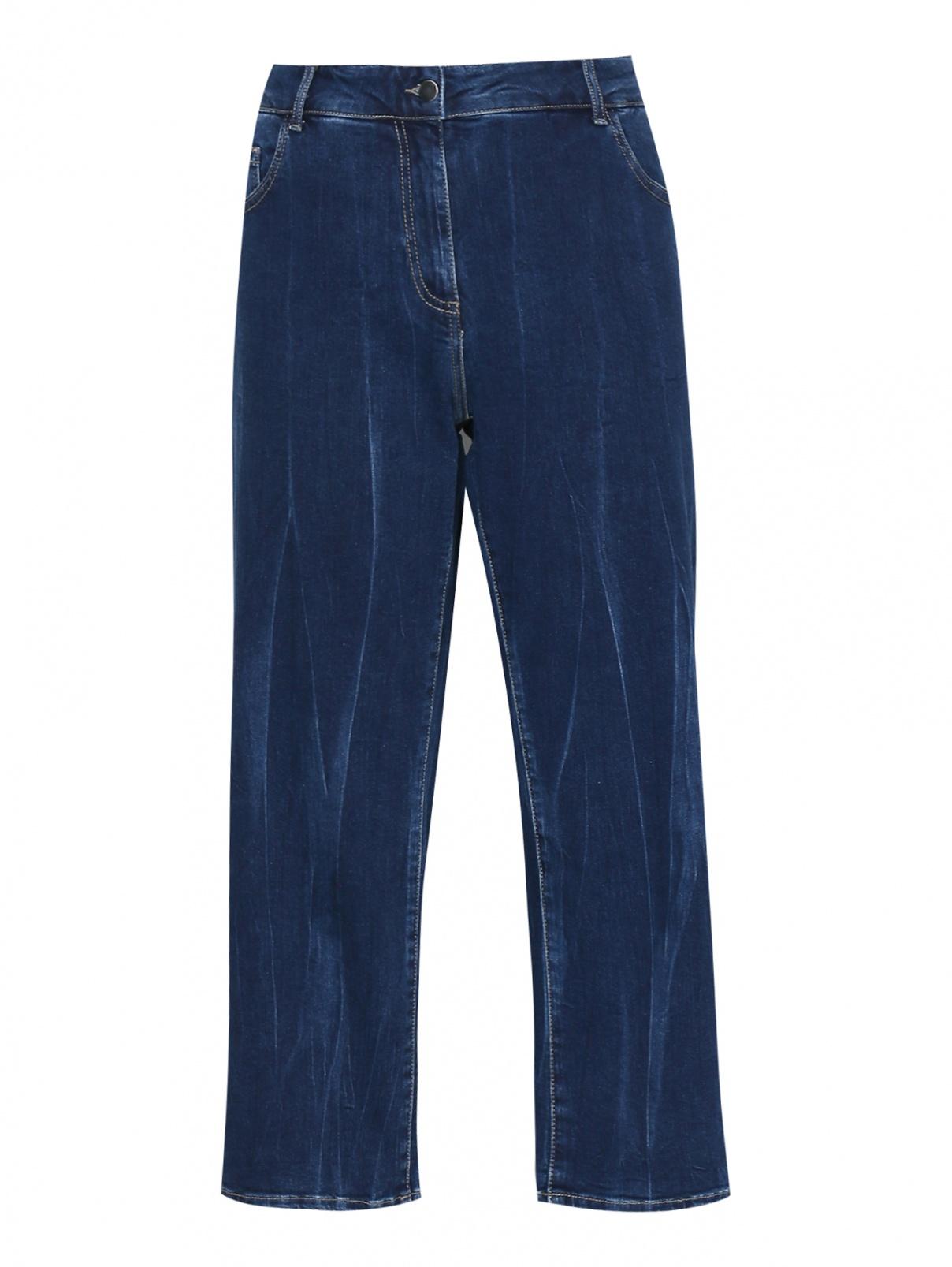 Укороченные джинсы прямого кроя Persona by Marina Rinaldi  –  Общий вид