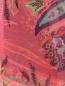 Шарф из шелка с принтом пейсли Etro  –  Деталь