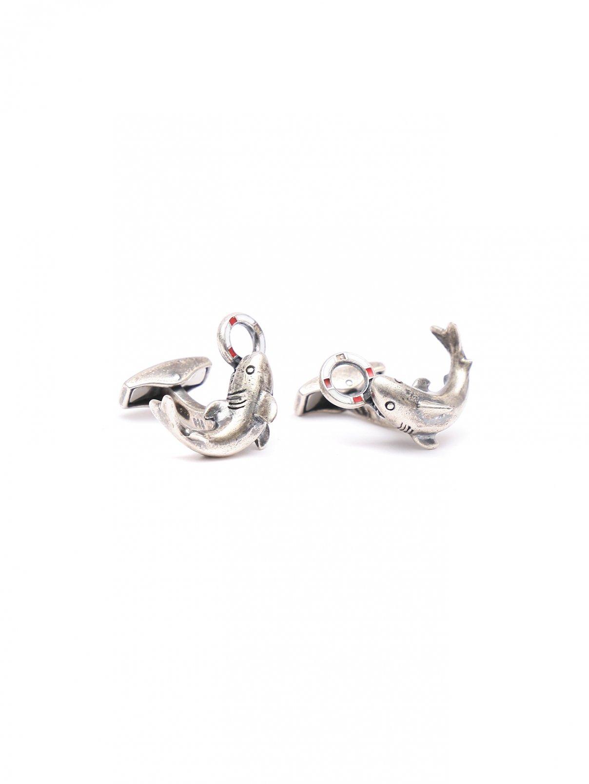 Запонки из серебра Tateossian  –  Общий вид