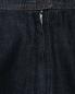 Джинсовая юбка миди из хлопка Weekend Max Mara  –  Деталь