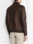 Куртка из кожи с накладными карманами Bosco Fresh  –  МодельВерхНиз1