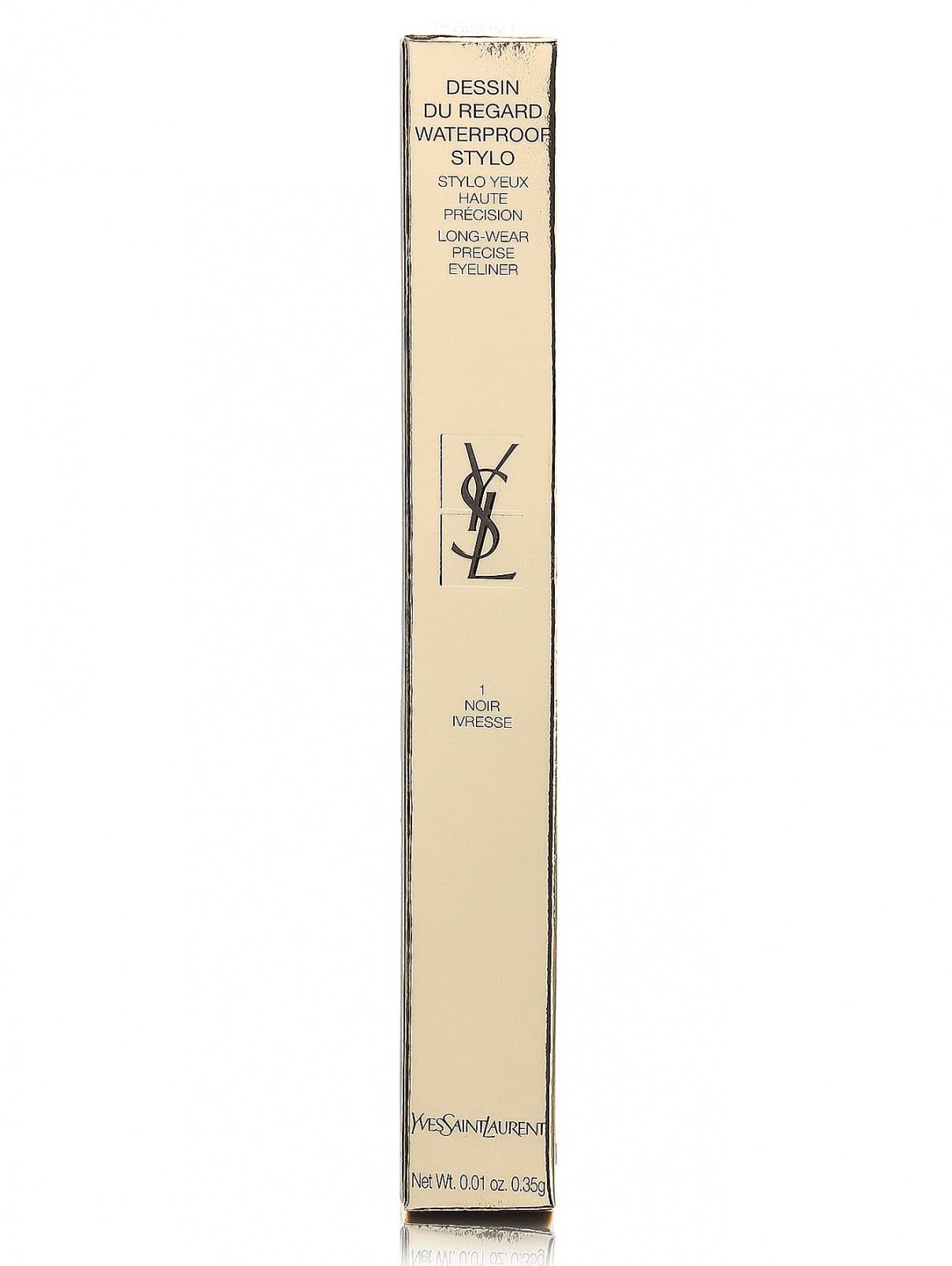Автоматический водостойкий карандаш для глаз - №01, Dessin Du Regard YSL  –  Модель Общий вид