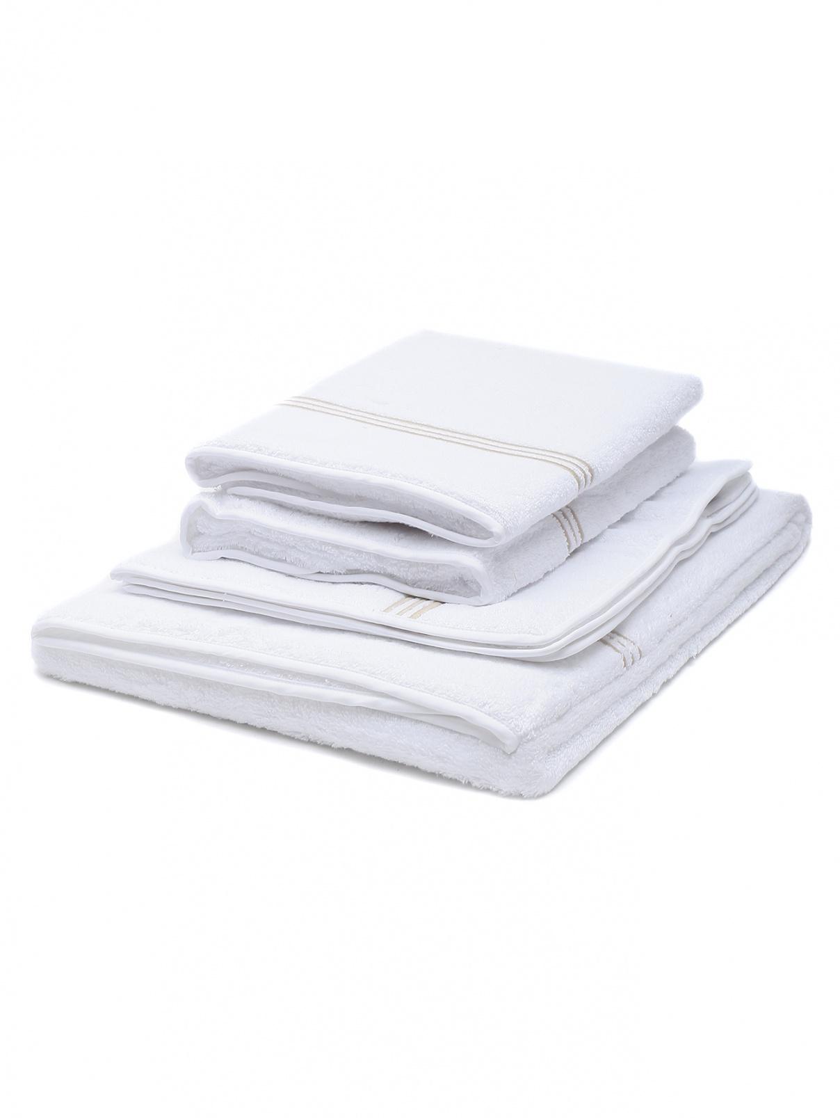 Набор полотенец из хлопка с вышивкой Frette  –  Общий вид