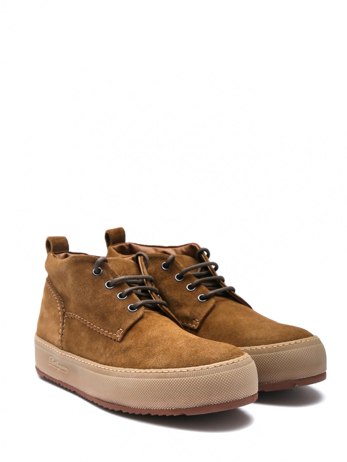 Ботинки замшевые на платформе Barleycorn  –  Общий вид