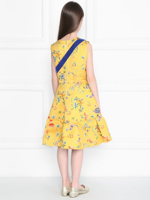 Платье из смешанного хлопка  - МодельВерхНиз1