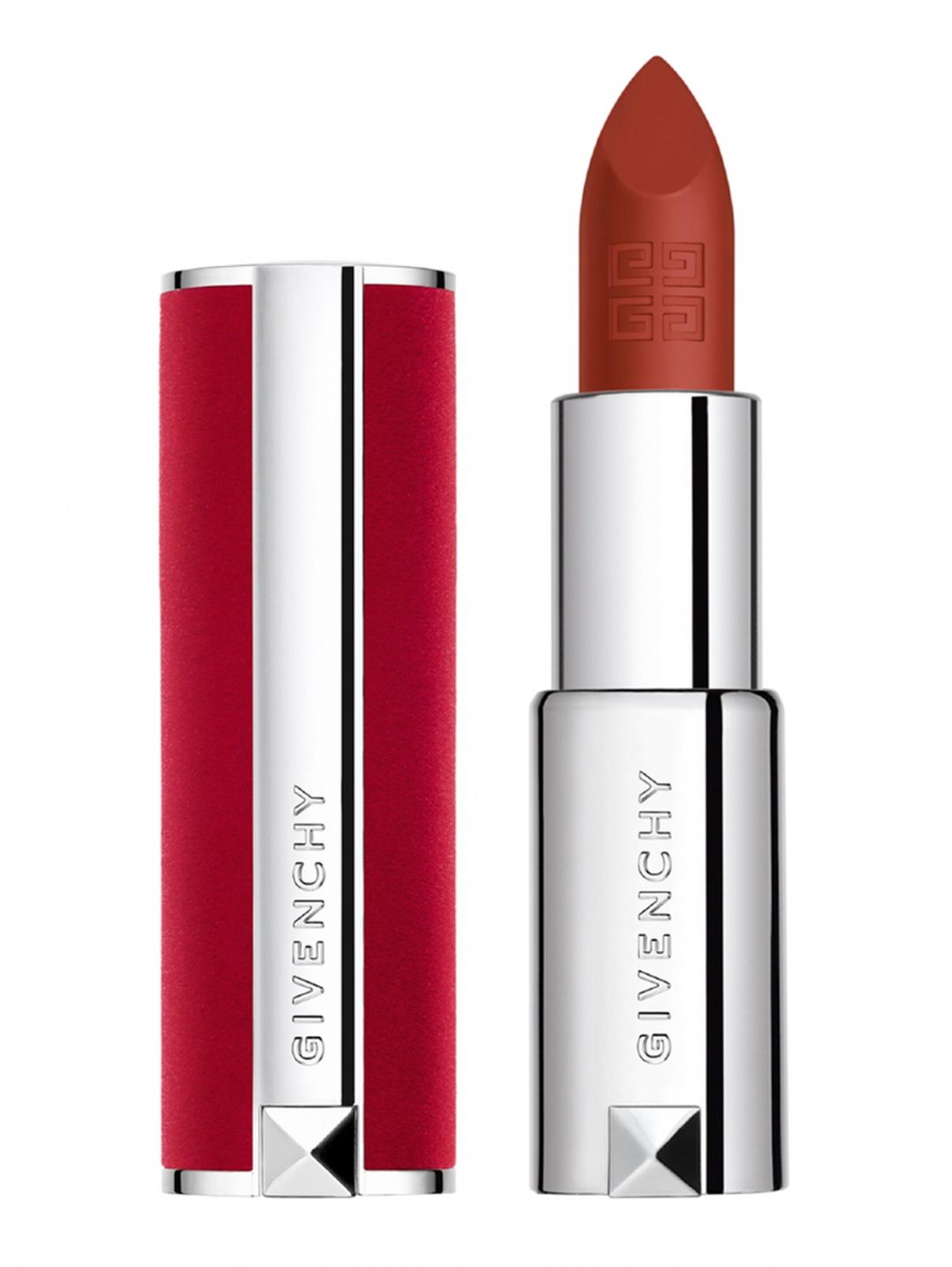 Матовая помада Le Rouge DEEP VELVET, 35 красный акцент, 3,4 г Givenchy  –  Общий вид