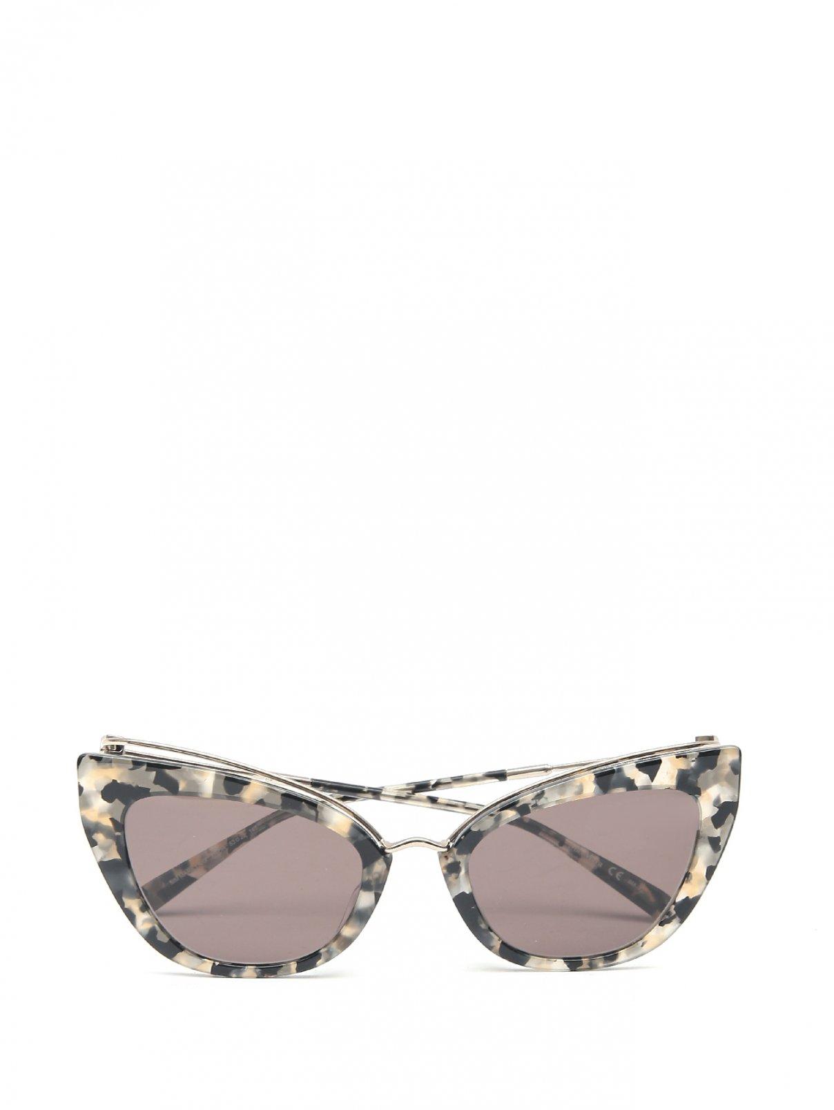 Очки солнцезащитные с узором Max Mara  –  Общий вид