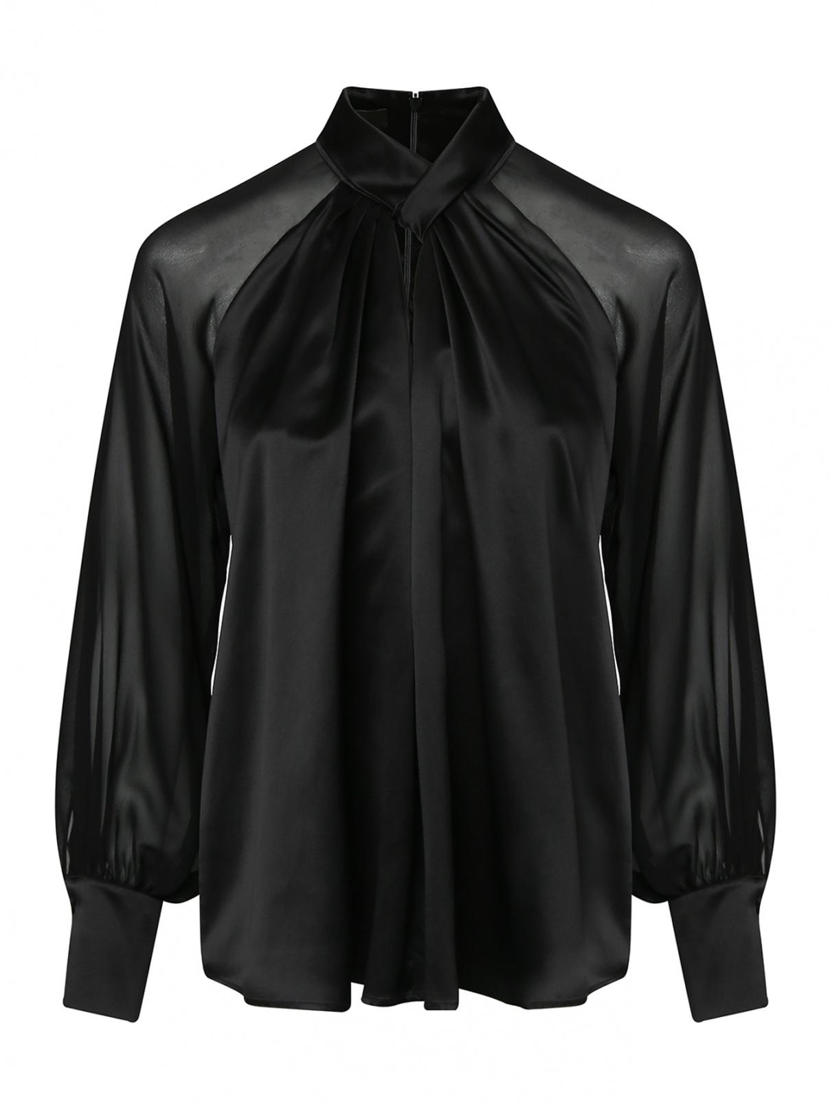 Блуза из шелка свободного кроя Max Mara  –  Общий вид