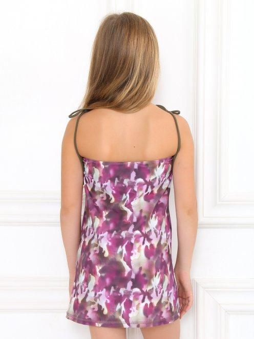Платье пляжное с узором - Модель Верх-Низ1