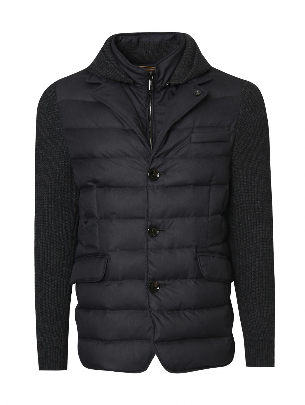 Куртка пуховая на молнии Moorer  –  Общий вид